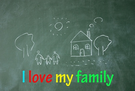 grand father: i love my family