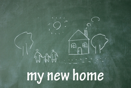 custom home: my new home symbol