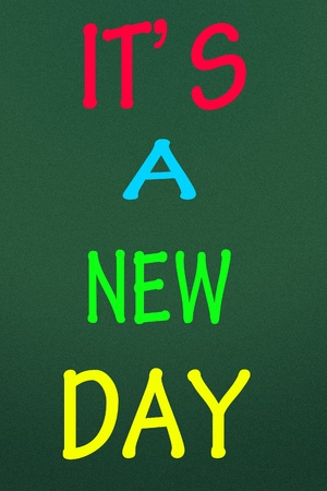 commence: it is a new day title