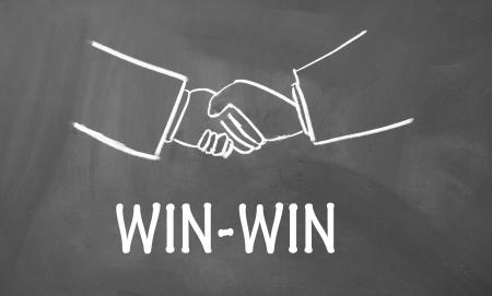 win-win symbol photo