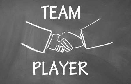 team player symbol  photo