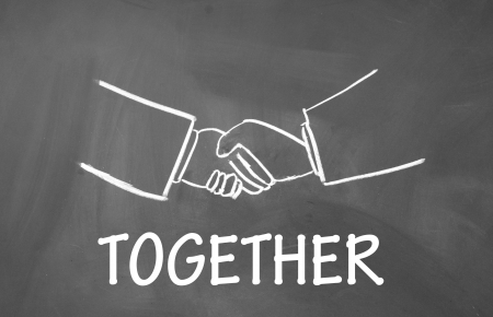 together symbol  photo