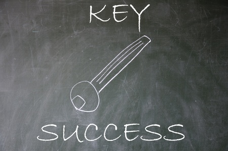 abstract success key  photo