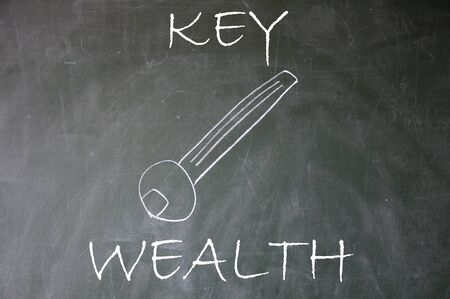 blankness: abstract wealth key