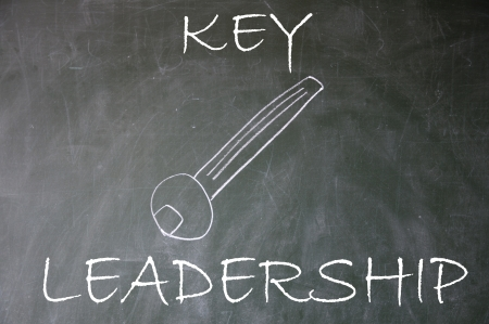 abstract leadership key  photo