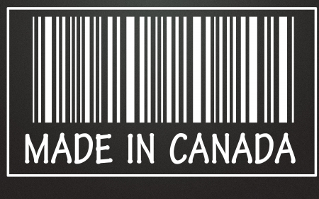 made in canada symbol  photo