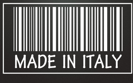 made in italy symbol  photo