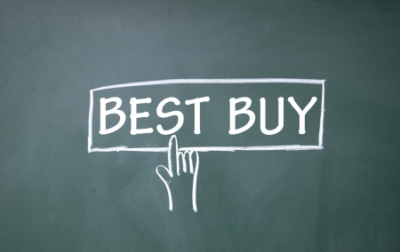 blankness: best buy symbol  Stock Photo