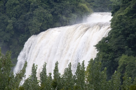 The Chinese huangguoshu Falls photo