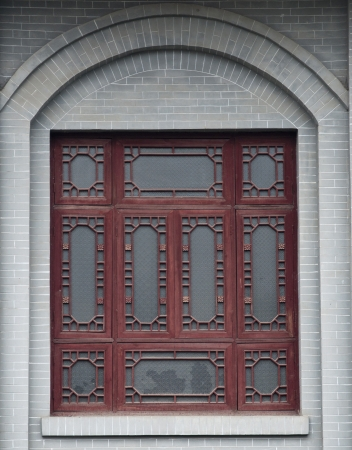 Chinese-style windows photo