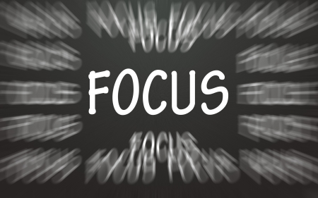 focus symbol  Stock Photo