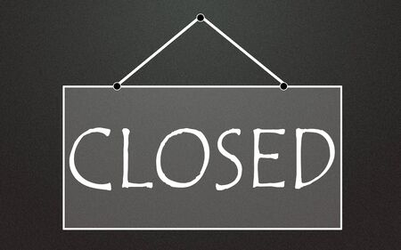lacunae: closed symbol Stock Photo