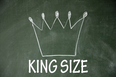 king size symbol  photo