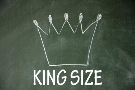 king size symbol Stock Photo - 14692362