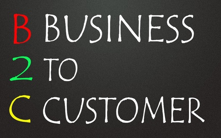 business to customer symbol