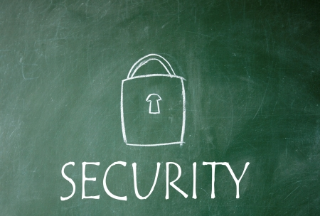 security symbol Stock Photo - 14828223