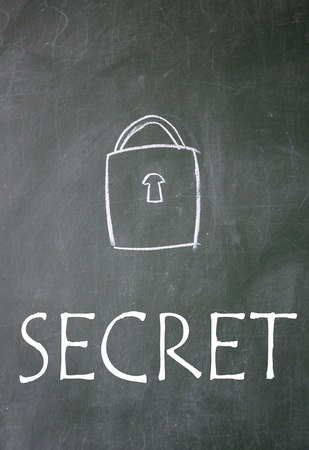 secret symbol Stock Photo - 14828211