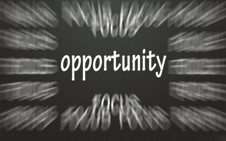 narration: focus opportunity symbol