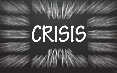 focus crisis symbol  photo