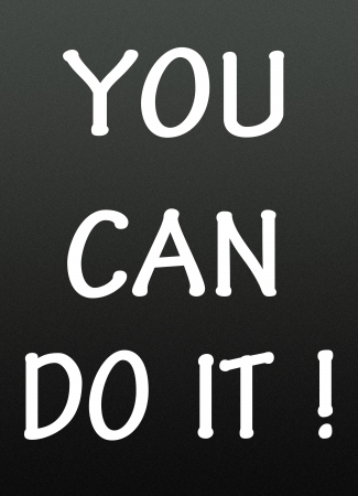 you can do it symbol  photo