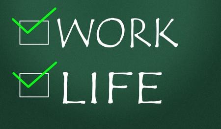 work or life choice Stock Photo - 14828197