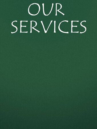 our: our services title Stock Photo