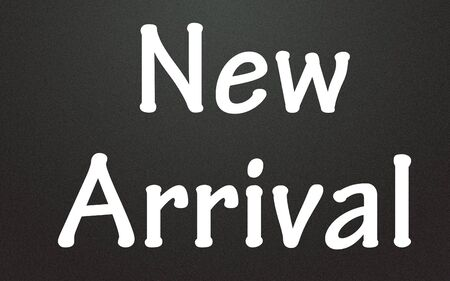 new arrival: new arrival symbol  Stock Photo