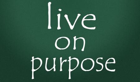 live on purpose symbol