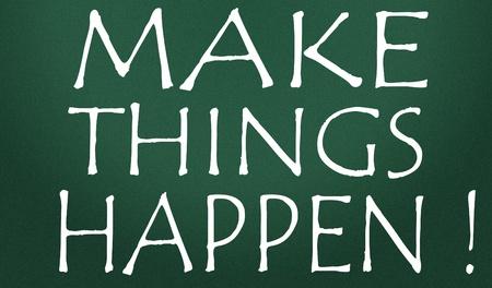 make things happen symbol