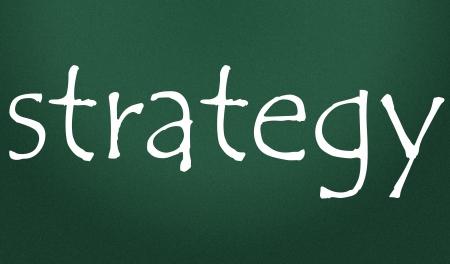 strategy symbol Stock Photo - 14828260