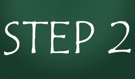 step 2 symbol  Stock Photo