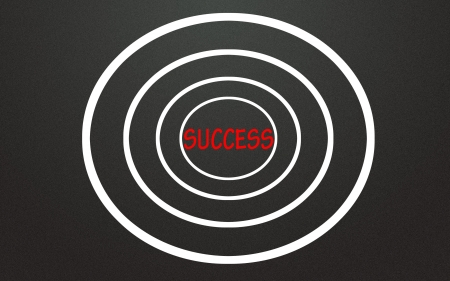 success symbol focus Stock Photo - 14828274