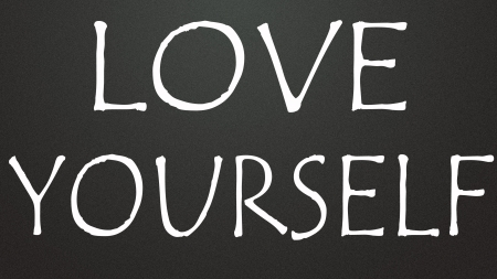 self development: love yourself symbol