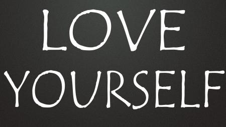 zelf doen: van jezelf houdt symbool