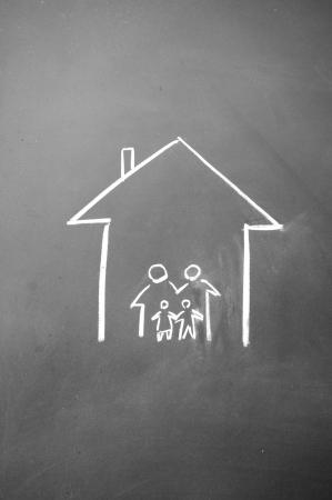 home symbol photo