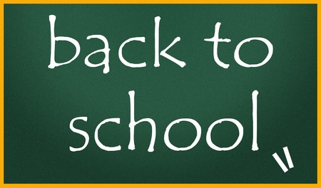 back to school title symbol  photo