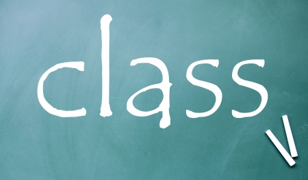 class symbol  Stock Photo - 14922298