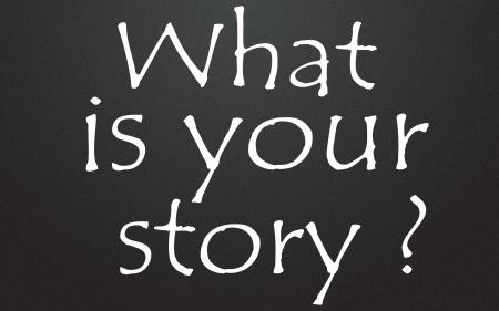 ストーリーのタイトルは何ですか 写真素材