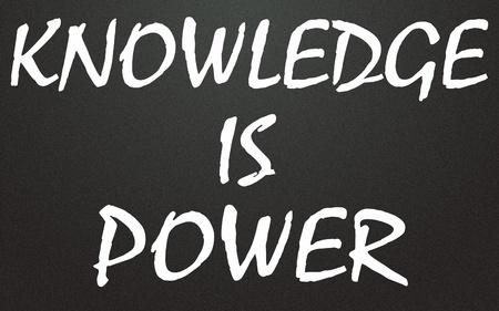知識は力のタイトル