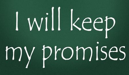 versprechen: ich halte meine Versprechen Titel
