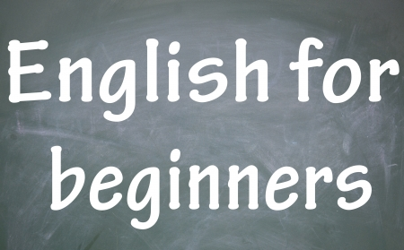 learn english: english for beginners title