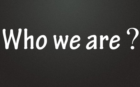 who: who we are title