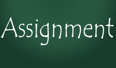 assignment title