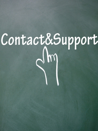 lacunae: abstract finger click contact support  symbol