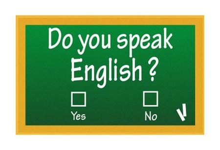 speak english: do you speak english test