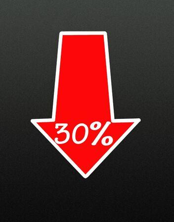 business discount arrow photo