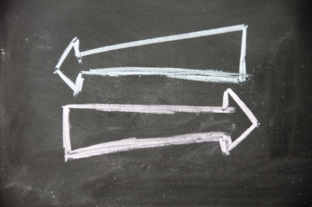 counterpoise: left and right arrow