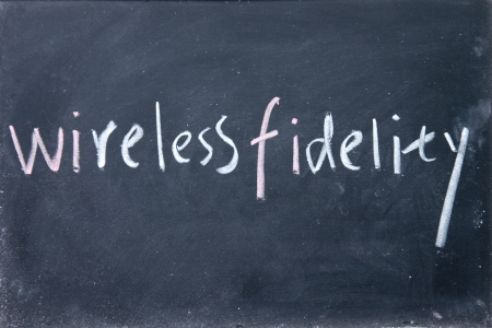 wireless fidelity sign photo
