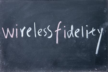 boardcast: wireless fidelity sign