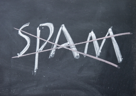 no spam sign Stock Photo - 16097918